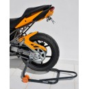 Ermax rear hugger, integrated chain guard, painted
