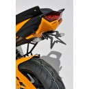 Ermax fender eliminator with number plate light, painted