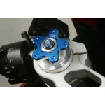 LLS fork preload adjusters anodised Blue